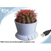 China Intellectual Cool USB Gadget flowerpot displayed on Windows 7 with led light wholesale