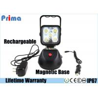 China Rechargeable LED Work Lights With Magnetic Base Dimmable Style 15W Power wholesale