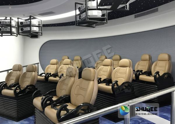 Quality SGS Certificate 5D Movie Theater Experience With Simulator System For Entertainment Center for sale
