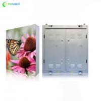 China P4 P5 LED Display Cabinet , Full Color Led Display Board Steel Aluminium Outdoor Indoor wholesale