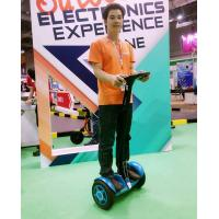China Speed Control Urban Road Self Balancing Vehicle , Thinking Car Yellow wholesale