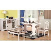 China White Color Contemporary Dining Room Furniture Modern Kitchen Dining Tables wholesale