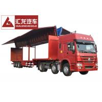 Buy cheap Drop Deck Wingspan Trailer Curtain Side Trailer High Loading and Unloading from wholesalers