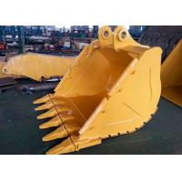 China Wheeled Extension CAT336 Excavator V Ditching Bucket With 6 Teeth wholesale