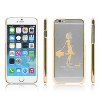 China Hard PC Plastic Clear Transparent  Apple iPhone 6 protective cases and cover wholesale
