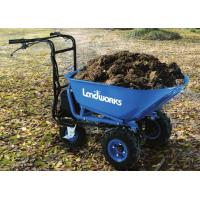 Buy cheap Electric Power Barrow Landscaping Power Equipment For Construction Site from wholesalers