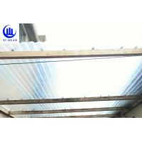 China Lightweight Transparent Corrugated Greenhouse Panels Weather Resistance wholesale