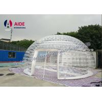 China 6m diameter Inflatable Event Tent Ventilation Inflatable dome Double Layer Tent Amazon wholesale