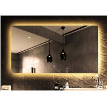 China Frameless LED Bathroom Mirror With Radio Anti - Fog Rectangular Bathroom Mirror wholesale