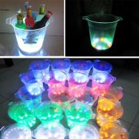 Buy cheap Wholesale Edgelight rotomolding plastic LED ice bucket from Factory Supply from wholesalers