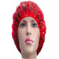 China Transparent Plastic Disposable Head Cap Dustproof For Hospital / Hotel / Medical on sale