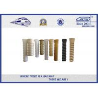 ISO Plastic Dowel for Railroad Fastenings With PA66 or HDPE