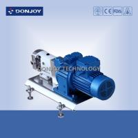 Buy cheap 316L Horizontal TUL Lobe High Purity Pumps with Explosion proof Motor Clamp End from wholesalers