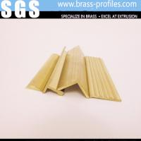China Window Top Frames Brass Extruding / Center Frames Copper wholesale