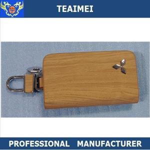 China Colorful Genuine Cow Leather Car Key Case Keychain Multiple Key Holder wholesale