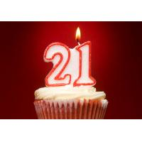 China Double Number Glitter Birthday Candles With Red Color Edge And Original Holder wholesale