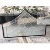 China Vidrio decorativo moderado flotador del panel para el borde plano de la puerta arquitectónica wholesale