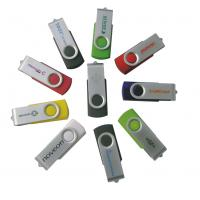 China Personalized Logo Small Spin Customized USB Flash Drive Various Memory Capacity wholesale
