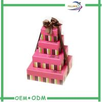 China Cookies Square Wedding Chocolate Gift Boxes Packaging Recyclable wholesale
