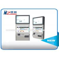 China Stand Alone Wall Mount Self Service Banking Kiosk Dual Screen Led Or LCD wholesale