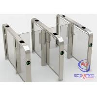 China High Security Brushless Speed Gate Turnstile RFID Biometric Access Control Systems wholesale