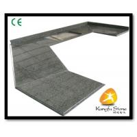 China Xiamen Kungfu Stone Ltd supply Green Granite Kitchen Countertops In High quality and cheap price on sale