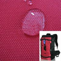 China Waterproof Polyester Backpacks Fabric with coating wholesale