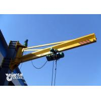 China BX Type Mural Floor Mounted Jib Crane 3 Phase Apply To Storage And Ports wholesale