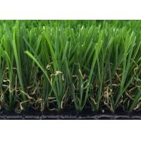 China Kids Playing 30MM Outdoor Artificial Grass Carpet , Fake Garden Grass wholesale