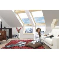 Buy cheap Residential flat roof electric skylight window Aluminum frame with glass and from wholesalers