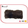China Matt Satin Lining Brown Fur Snood Scarf Adults SGS / ITS / REACH Compliance wholesale