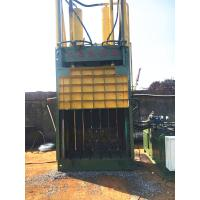 China 25 Tons Paper Baler Machine Built - In Cabinet Tied Belay Preset Slots on sale