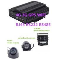 China Hybrid HD Mobile DVR 8CH 1080P  4G GPS WIFI rs485 RS232 RJ45 for school  bus wholesale