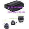 China School Bus Hybrid HD Mobile DVR 8CH 1080P 4G GPS WIFI rs485 RS232 RJ45 wholesale