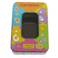 Care Bears Candy Tin Box , Candy Tin Container With PET Window