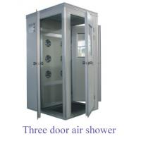China Stainless Steel Air Purifier Filter , Air Shower Clean Room For Two Person wholesale