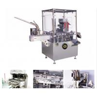 China AL / PL Blister / Bottle Automatic Vertical Cartoning Machine With PLC Control on sale