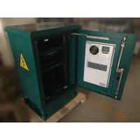 """Buy cheap 18U Standard 19"""" Rail Outdoor Telecom Cabinet / Enclosure Pole and Floor Mounted With Air Conditioner from wholesalers"""