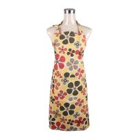 Fashionable and Recycle Flower Printed Retro Ladies Cook Aprons / Cotton Bib Aprons