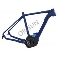 Aluminum Electric Bike Frame Inner Cable Routing 27.5 Inch Boost Patented Design
