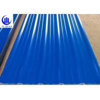China PVC Resin Light Weight Plastic Roof Tiles For Building Materials Decorative Roof wholesale