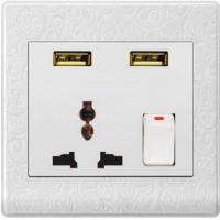 China USUN-Manufacturer electrical plugs and sockets usb wall socket  automatic switch save your energy wholesale