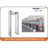 China Public Security Check Walk Through Metal Detector 6 Detecting Zones , Walk Through Scanner wholesale