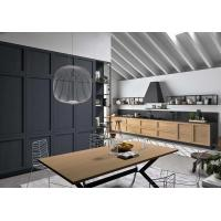 China Solid Wood Frame Complete Kitchen Cabinet Set 18mm MFC Borad ISO9001 wholesale