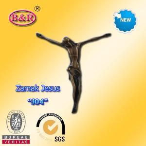 China Часть креста сплава цинка размера 10.2*11.2км Замак Иисуса для распятия никакие «Дж04» wholesale
