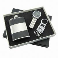 China Promotional Gift Set(Watch, USB available), Measures 17.8x16x2.5cm wholesale