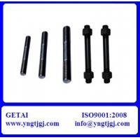 China Grade 4.8 Steel Stud Bolt ASTM A193 B16 on sale