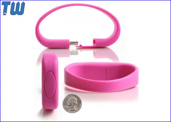 Quality Wristband Soft Silicon 1GB Pen Drive Memory Fashion Wearing Digital Product for sale