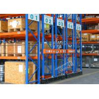 China Mobilized Automated Industrial Pallet Racking Weight Capacity 32000 Kg For Warehouse wholesale