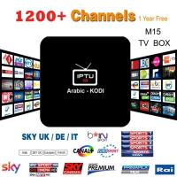 China M15 Amlogic S905X Android 6.0 TV Box 1G/8G KODI 16.1 IPTV With 1200+ 3 months Free wholesale